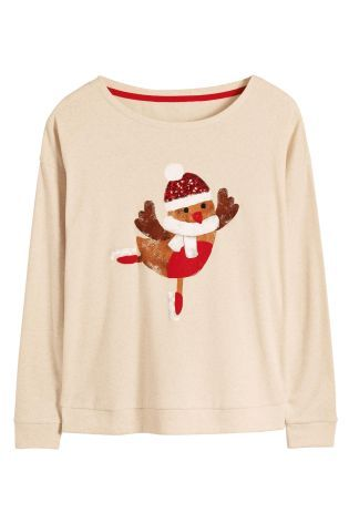 Christmas Jersey Sweater from Next