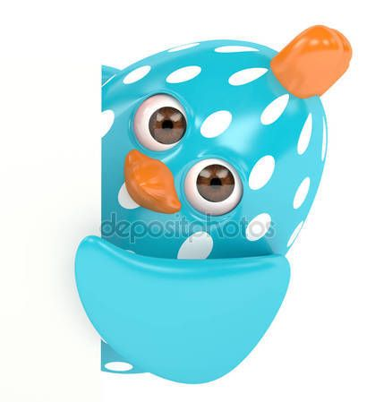 3d render of Easter chick holding board — Stock Photo © ayo888 #143688491