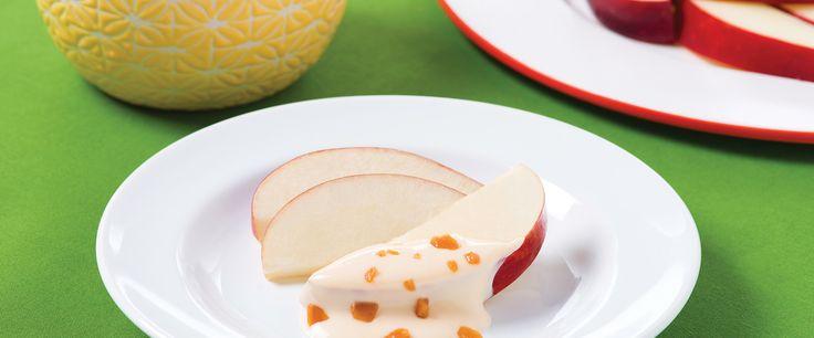 Trempette au gâteau au fromage et au toffee MACK Du gâteau au fromage et de quoi faire tomber dans les pommes!