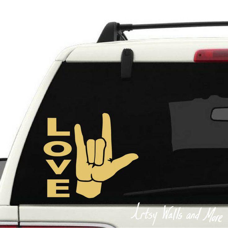 Best Car Window Decals Images On Pinterest Car Window Decals - College custom vinyl decals for car windowsbest back window decals ideas on pinterest window art