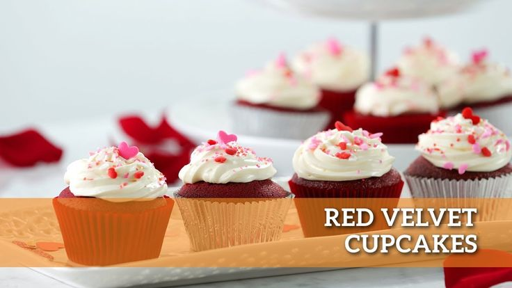 Of course, Red Velvet Cupcakes!! These little red treats are enjoyable any time of year but there's just something about indulging in a Red Velvet Cupcake on Valentine's Day. #makegood #recipe #valentinesday #redvelvet #cupcakes #recipes #baking #love #valentine