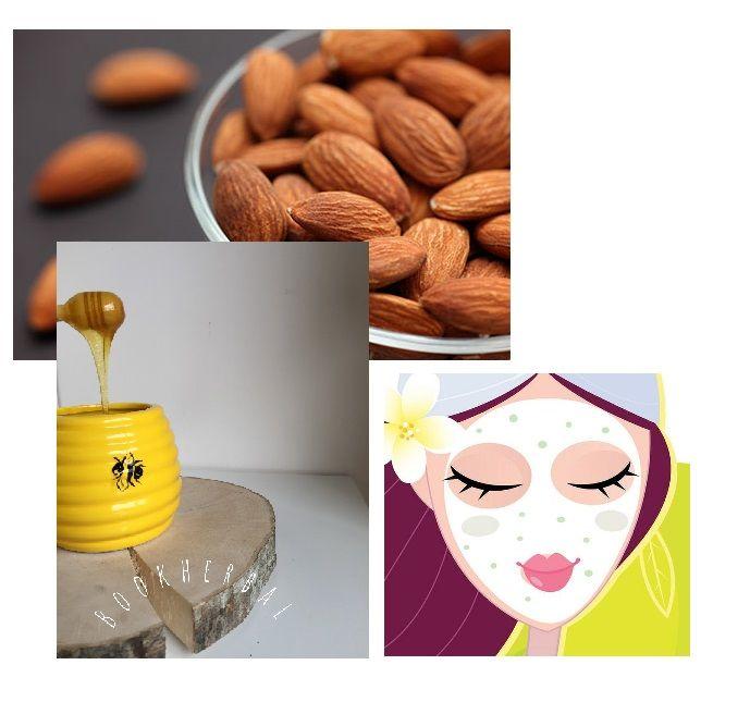 Moisturizing Almond Mask Recipe ~ bookherbal