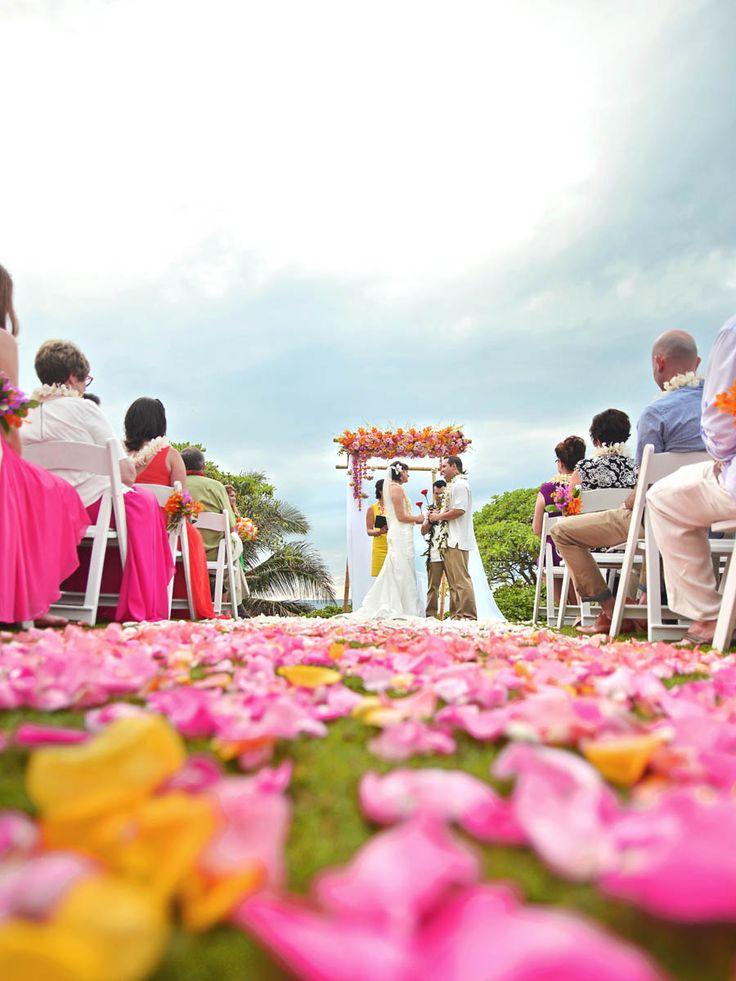 92 best hawaii weddings images on pinterest turtle bay resort pink and orange hawaii wedding turtle bay resort michelle garibay events passion roots junglespirit Gallery