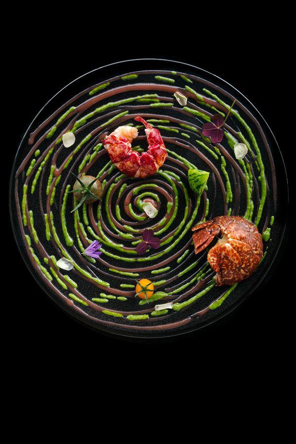 Idée présentation tarte légumes Kei Kobayashi, cuisine fusion, japonais étoilé, restaurant kei © Pluris