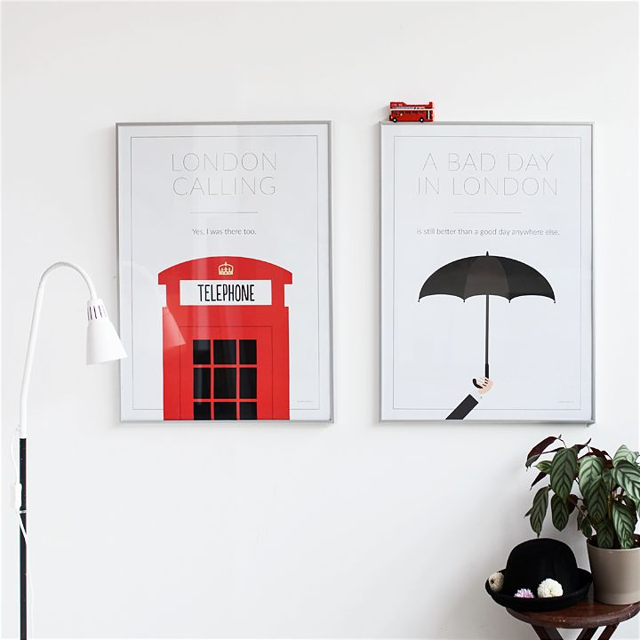 Póster - London Calling + Póster - A bad day in London is still better than a good day anywhere else