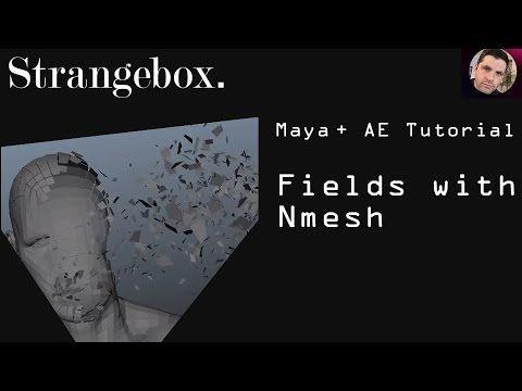 MAYA Tutorial : Using a Dynamic Field with Nmesh - YouTube
