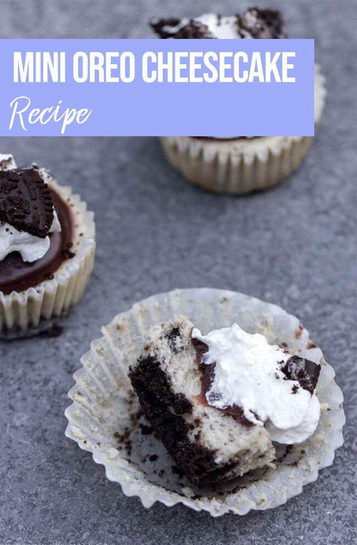Mini Oreo Cheesecakes Recipe Deserts To Make Pinterest