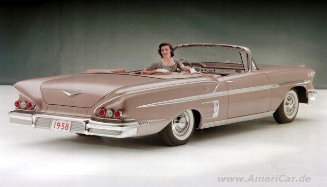 50er us cars   Der bezahlbare Traumwagen: Chevrolet Impala: Amerikanisches Auto mit ...