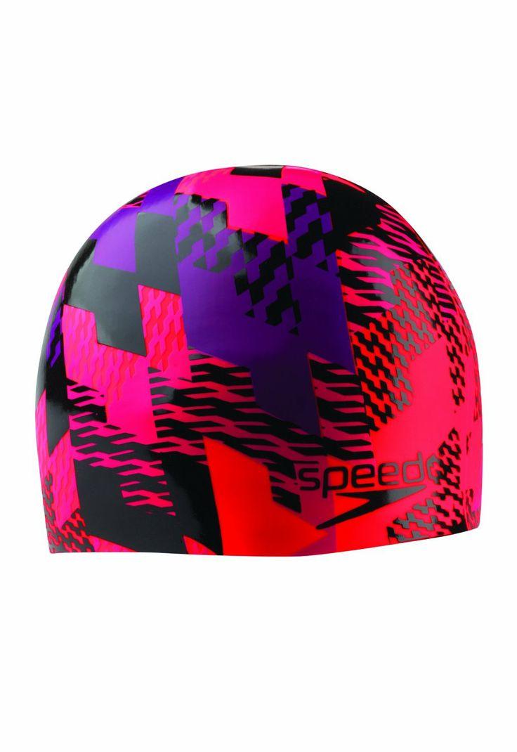 Speedo puzzle me this silicone swim cap 17