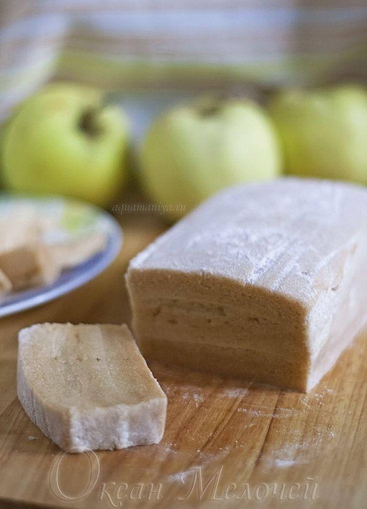 Рецепт яблочной пастилы