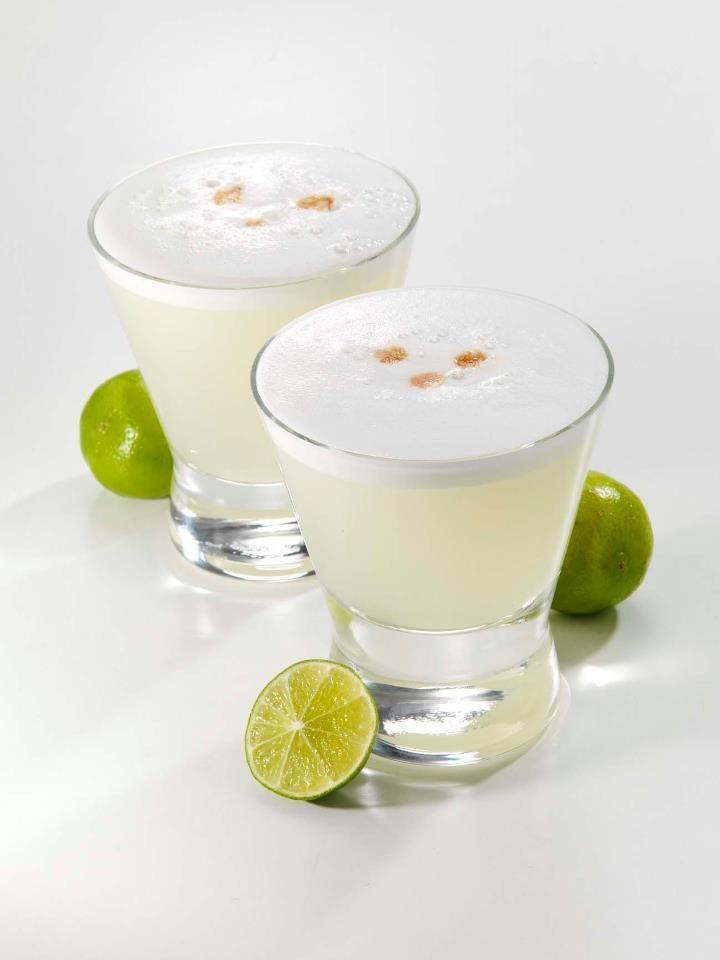 Pisco sauer que buen trago!!! Peru/Chile