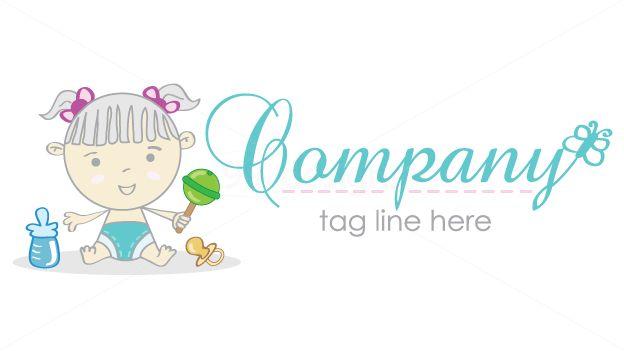 baby logo on 99designs Logo Store