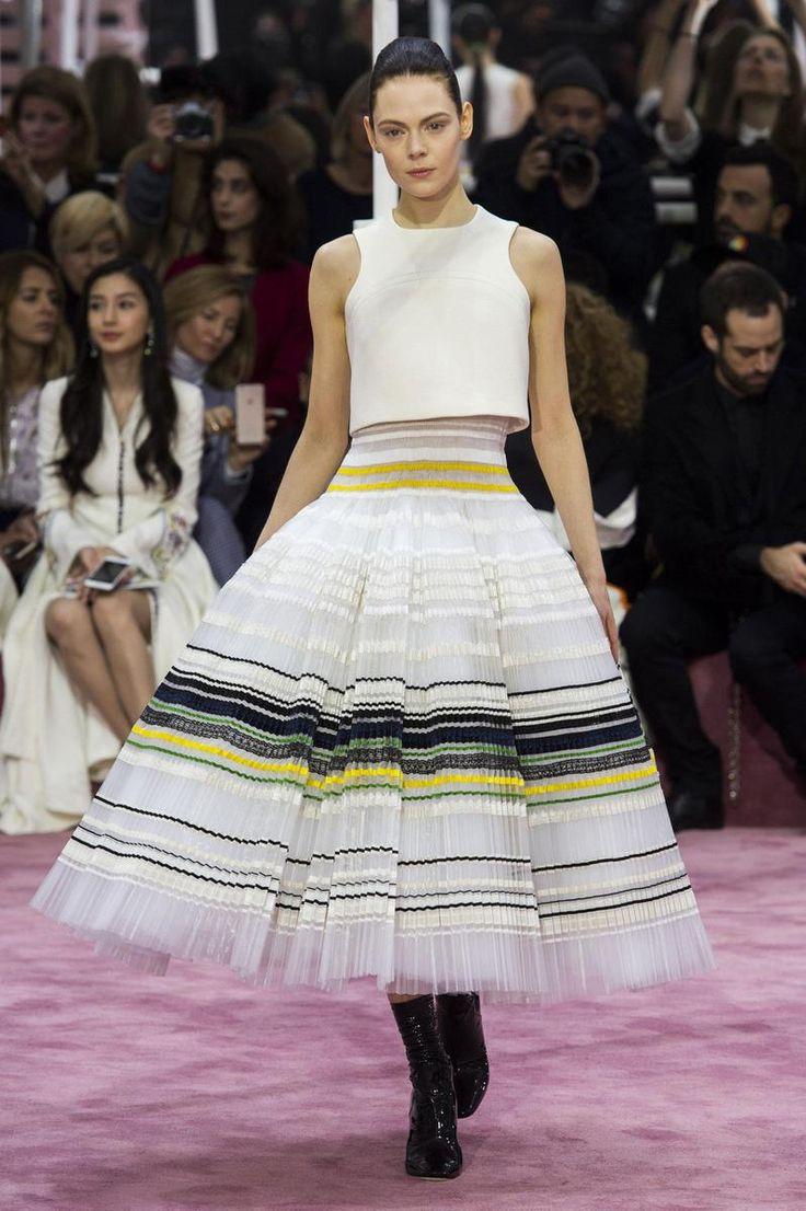 Jupe corolle Dior 2015