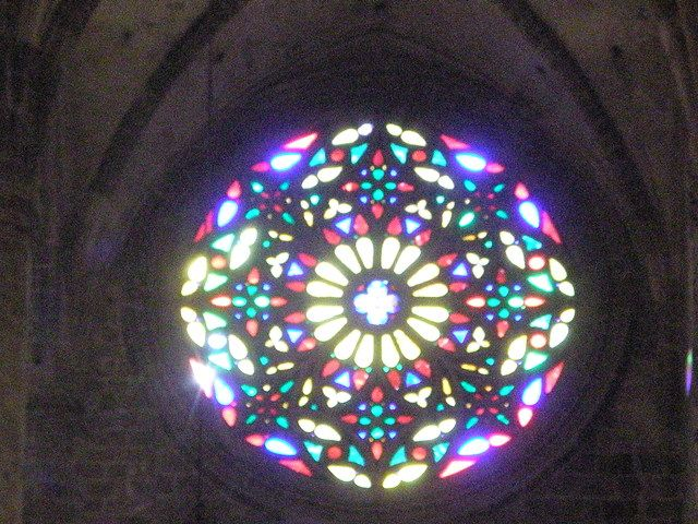 Roseton gótico