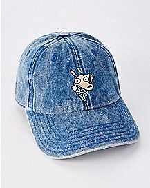 Denim Rocko's Modern Life Dad Hat - Nickelodeon
