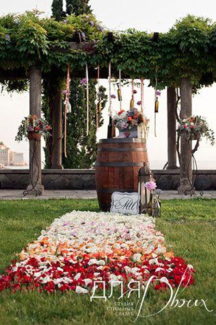 Винная свадьба в Черногории