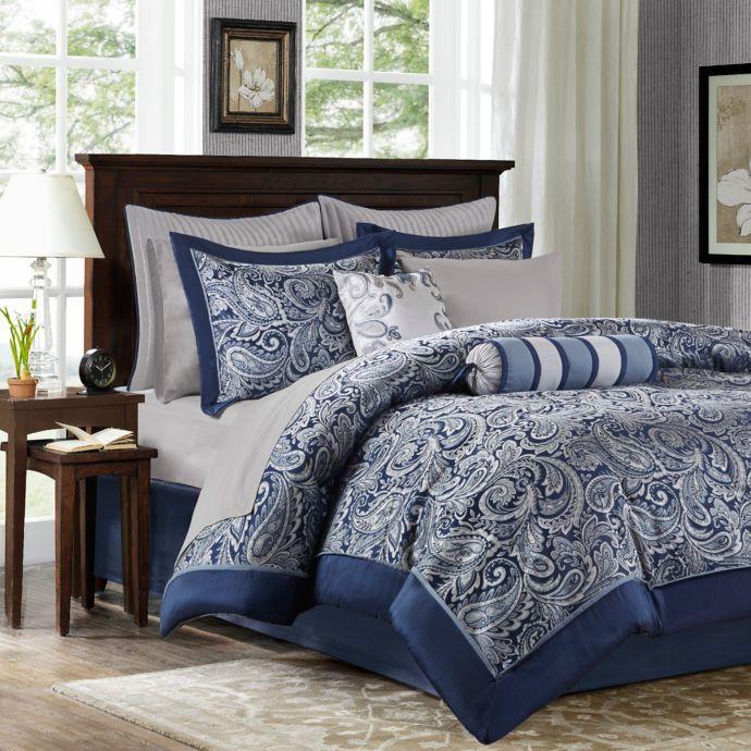 Madison Park Aubrey Reversible Comforter Set Bed Bath Beyond