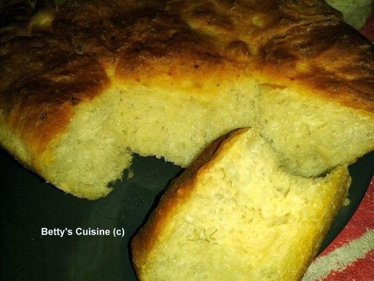 Betty's Cuisine: Πατατόψωμο με μάραθο