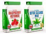 RASPBERRY KETONES x60 + COLON CLEANSE x60 - Max Strength Fat Burners and Colon Cleanse DETOX Capsules - Slimming Diet Pills | Suppress Appetite, Boost Metabolism and Increase Energy for Weight Loss - https://www.trolleytrends.com/?p=297036 http://hotdietpills.com/cat3/best-exercise-plan-to-lose-weight-for-men.html #BestDetoxDietPills