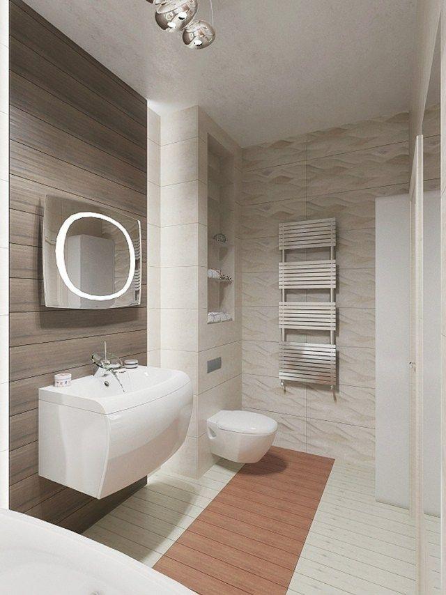 aménagement salle de bains sans fenêtres- 30 idées supers - Salle De Bain Sans Carrelage Mural