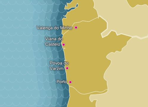 Mapa De Costa De La Plata Todos Los Amantes Del Litoral - Portugal map costa verde