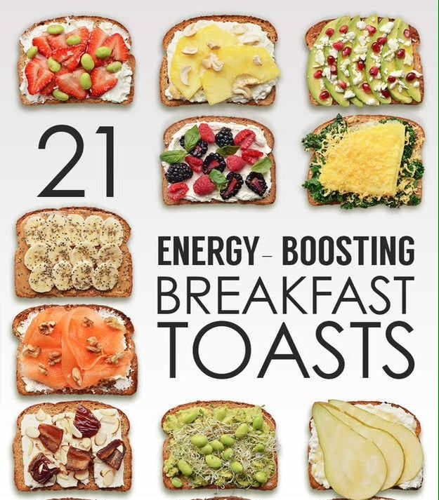 INCREDIBLE Energy Boosting Breakfast Toasts! ☕️❤️