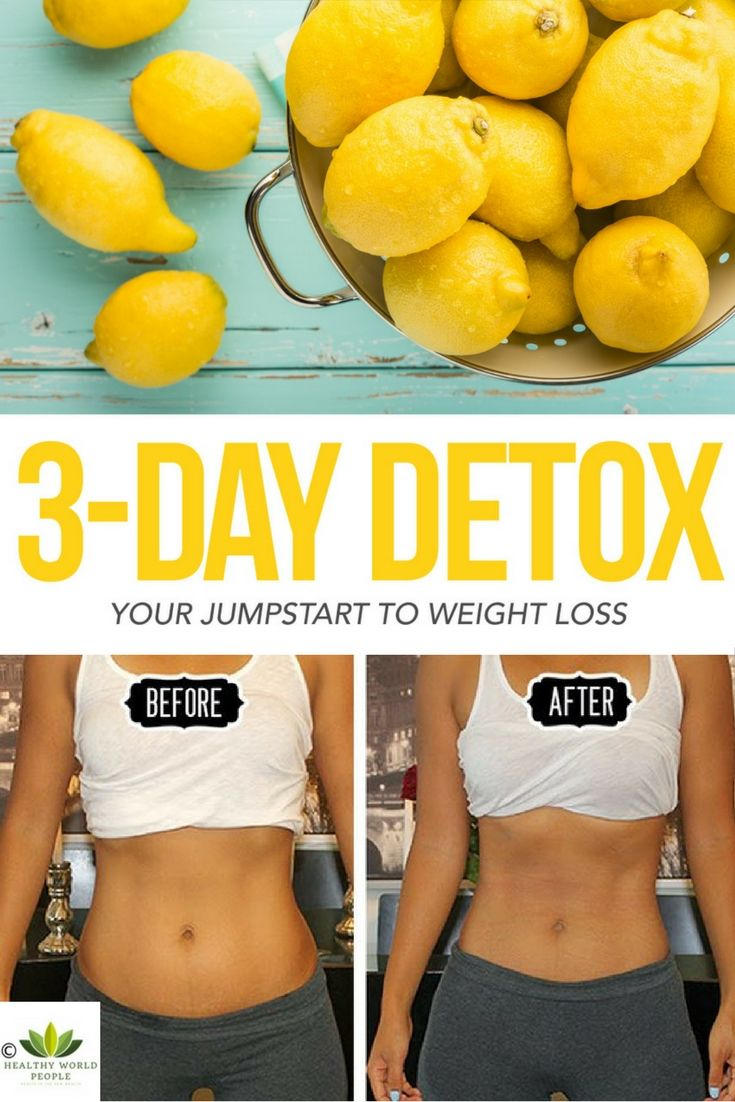 Try This 3-Day Detox And Cleanse Your Body From Sugar, Lose Weight And Improve Your Overall Health!