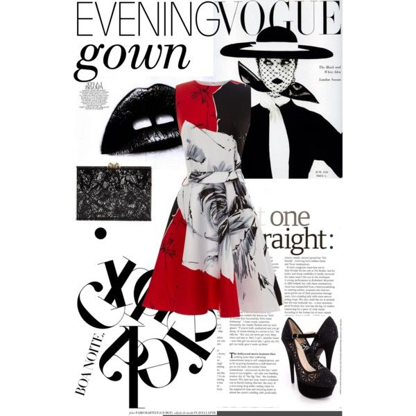 """""""evening gown"""" by michellezee on Polyvore"""