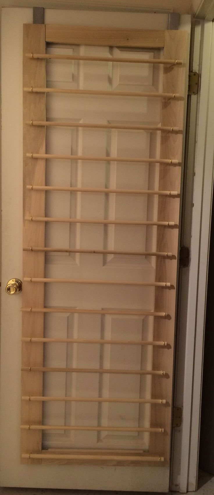 My new vinyl roll storage rack. I made it in about an hour...