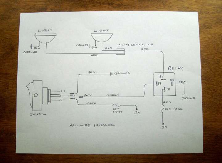 Motorcycle Headlight Switch Wiring Diagram from i.pinimg.com