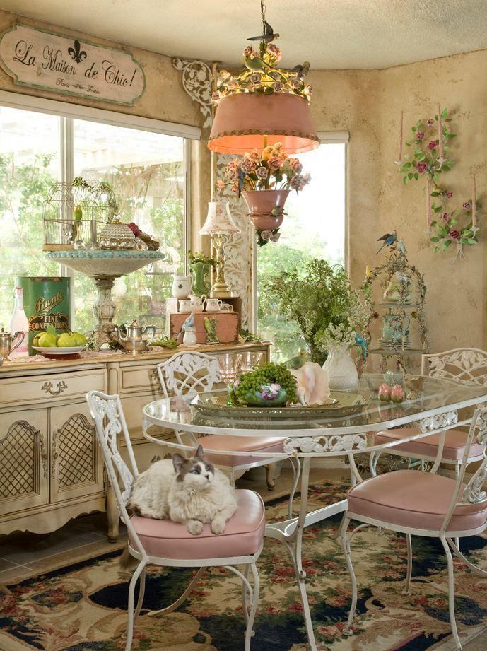 73 best CASA ROMANTICA MAGAZINE images on Pinterest | Vintage decor ...