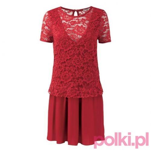 Sukienka na Walentynki Intimissimi #polkipl
