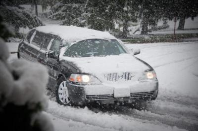 No need to worry about the weather!  Winter Wedding Limo - Premiere #1 Limousine Service - Harrisburg, PA