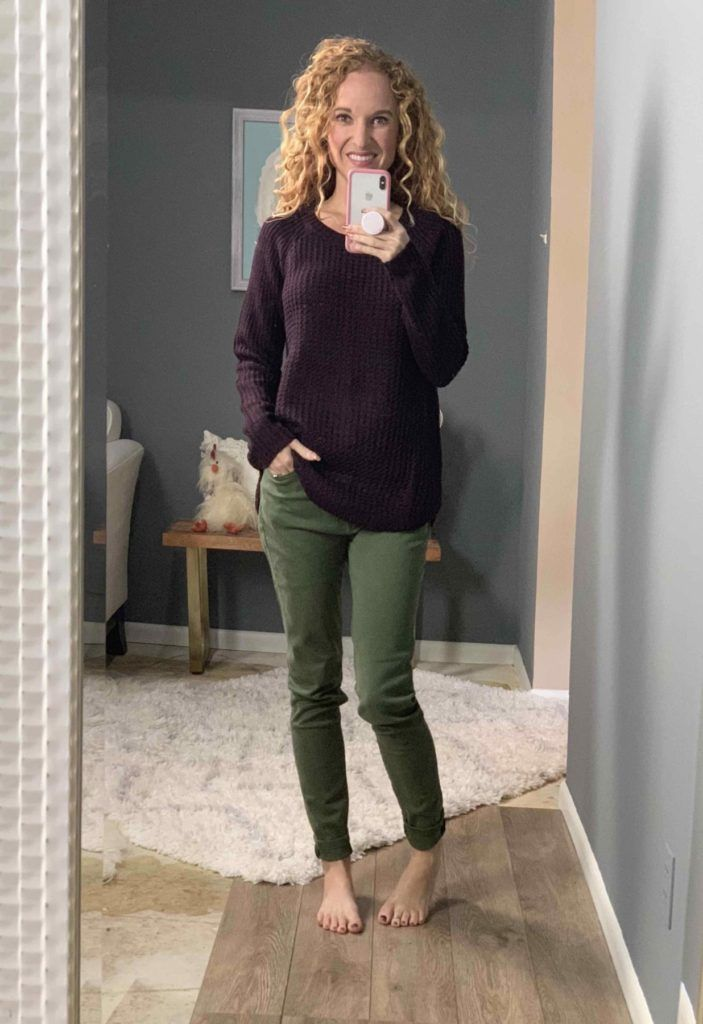 40db54be6a1c Pinque Westlake Textured Pullover My Fall Stitch Fix Clothing Box - I Think  It s a Fail - The Pink Envelope