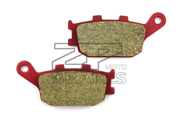Motorcycle parts Ceramic Brake Pads Fit HONDA NC 700 XAL TypeLD ABS 2012-2013 Rear OEM NEW Red Composite Free shipping #Affiliate