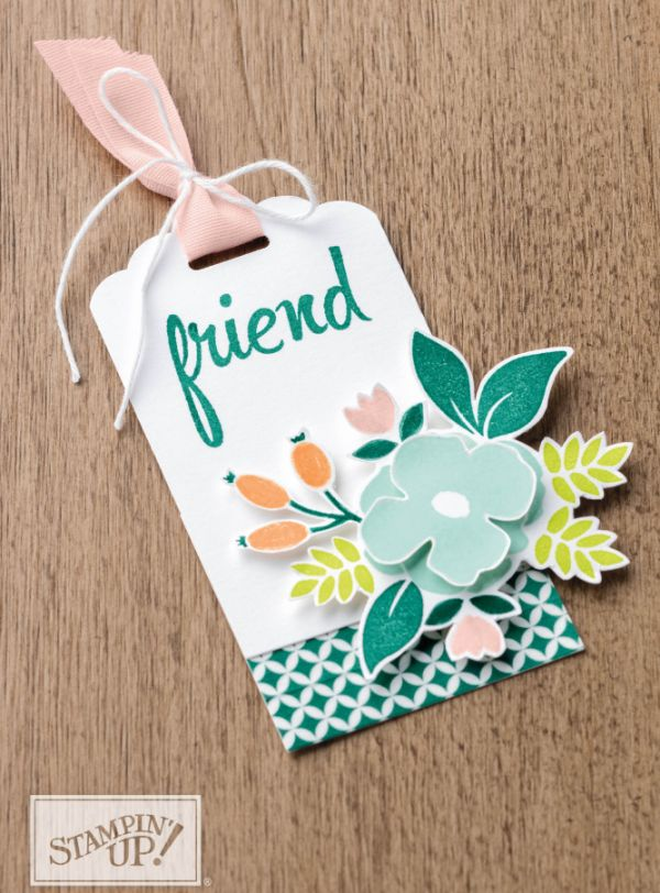 Tags with the Scalloped Tag Topper Punch