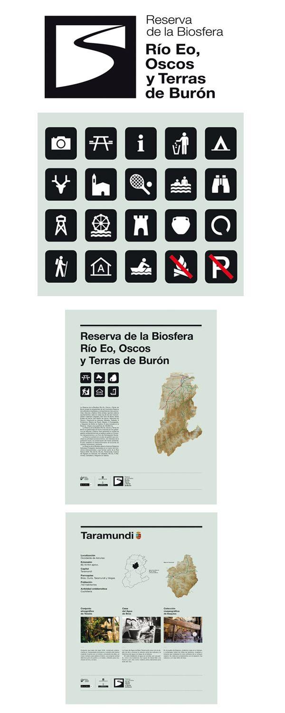 Diseño de la señalización para la Reserva de la Biosfera del Oscos, Eo y Terras de Burón #design #señaletica #Asturias http://www.jorgelorenzo.net/museos.php?idt=53