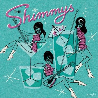 The Shimmys lp- Neryl Walker