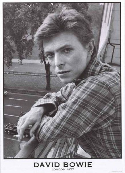 A beautiful portrait poster of David Bowie looking down-to-earth in London in 1977! Ships fast. 24x33 inches. Check out the rest of our incredible selection of David Bowie posters! Need Poster Mounts.