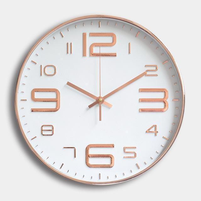 Timelike Modern Silent Wall Clock Quartz Wall Watch Diy Antique Design