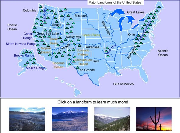 Best CC Recources Images On Pinterest Geography Teaching - Interactive map of the continental divide in the us
