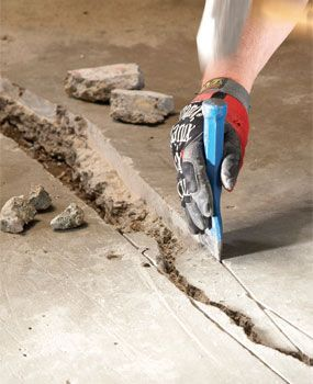 You can fix many concrete cracks yourself