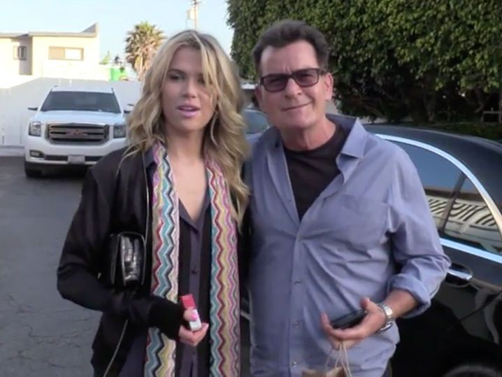 Charlie Sheen's Jumps on Nanny Train with New Girlfriend