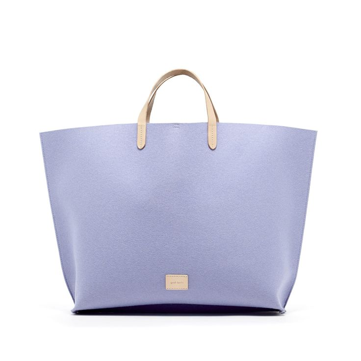 Hana Boat Bag in lavender from  Graf Lanz