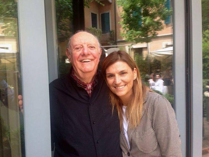Dario Fo at #Leoncino #Hotels #Luxury #Experience in #Verona! #guests #premio #nobel #letteratura #Dario #Fo