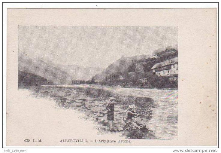 rive gauche de l'Arly à Albertville