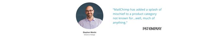 Mailchimp testimonial #testimonials #webdesign #inspiration