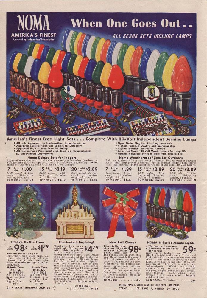 1940 Sears Christmas Catalog: Christmas Catalogue, Christmas Ads, Seared Christmas, Vintage Christmas, Christmas Memories, Christmas Lights, Christmas Eve, Christmas Decor, Christmas Ornaments