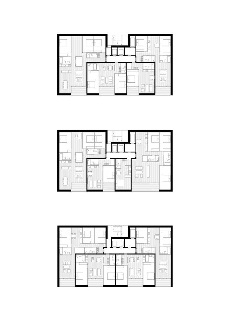 Appartements dans la tour – Variations, © be baumschlager eberle