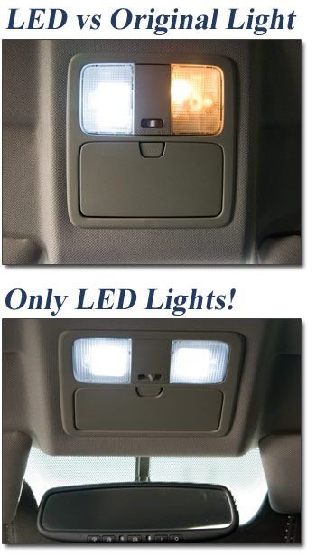 350Z: Interior dome light LED upgrade: $37.95 –visual reminder only. W5W error free LEDs are available cheaper elsewhere.